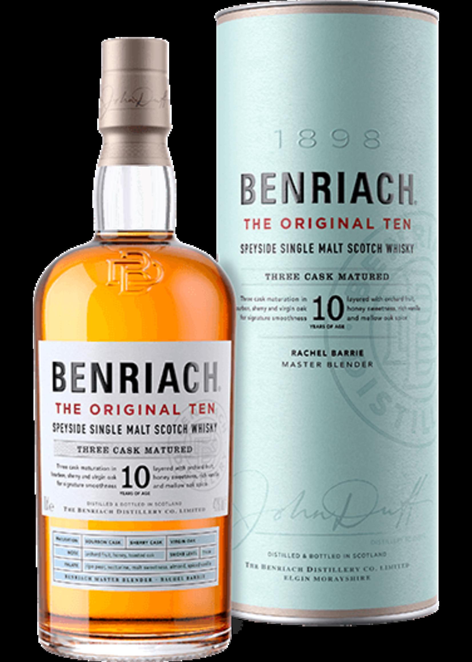 Benriach BenRiach / Original 10 Single Malt Scotch / 750mL