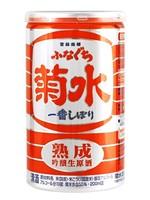 Kikusui Kikusui Shuzo / Kikusui Funaguchi Jukusei Sake  (Red) / 200mL