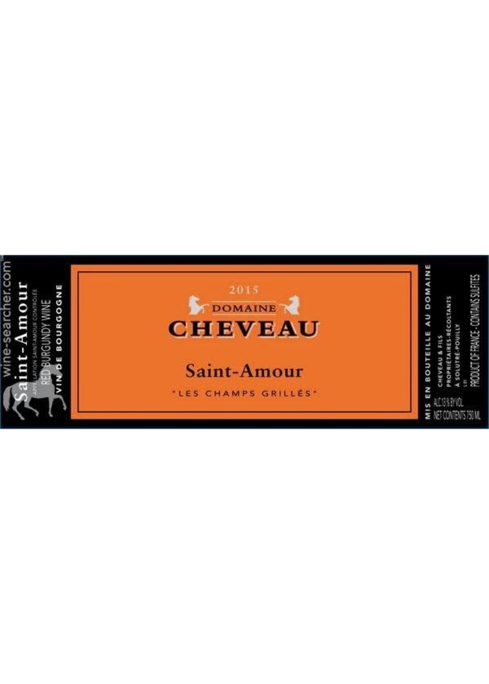 Domaine Cheveau Domaine Cheveau / Saint Amour Beaujolais / Les Champs Grilles 2016 / 750mL