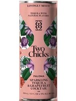 Two Chicks Two Chicks / Sparkling Paloma Tequila Grapefruit Cocktail / 355mL Single