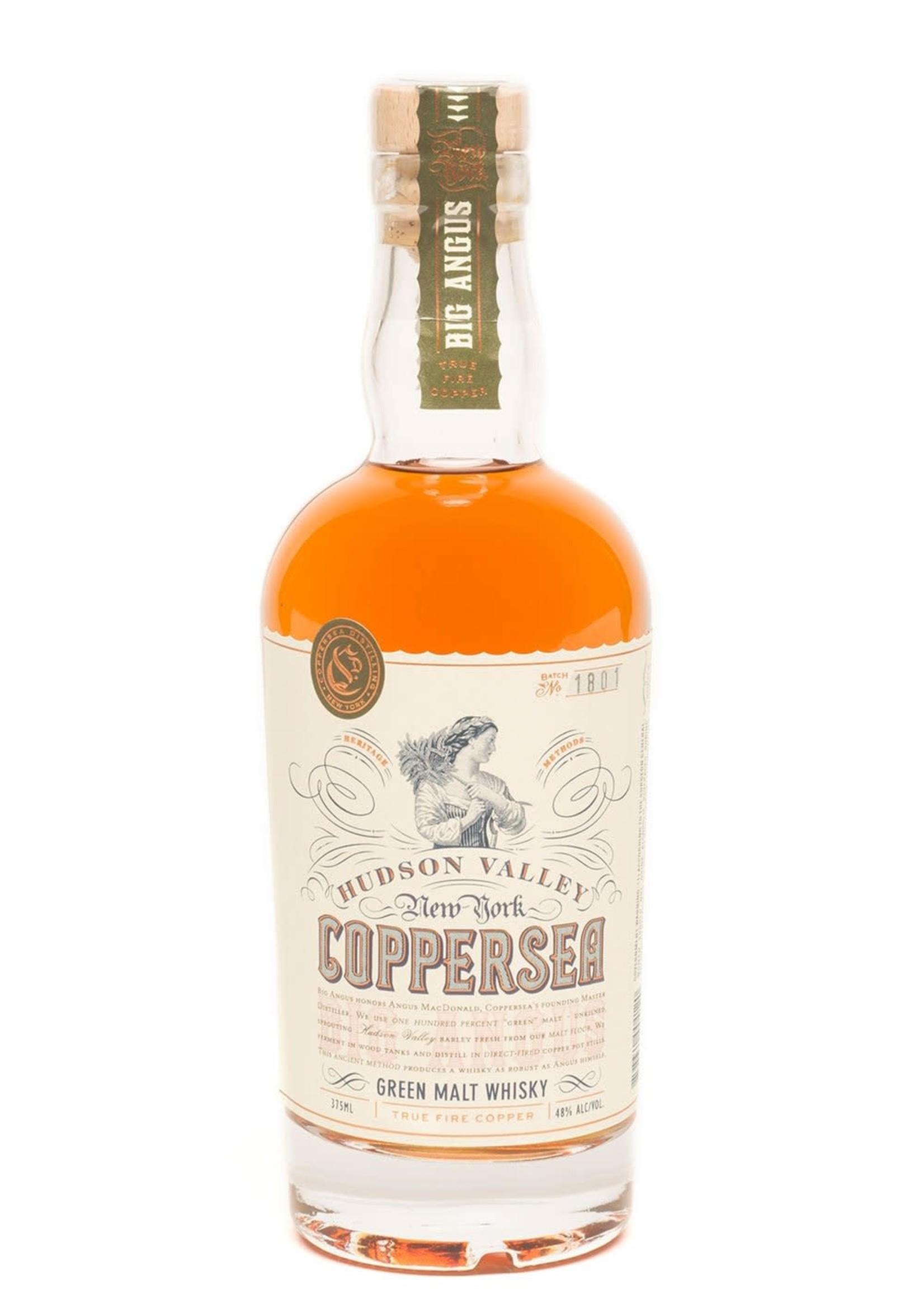 Coppersea Coppersea / Big Angus Green Malt Whiskey / 375mL
