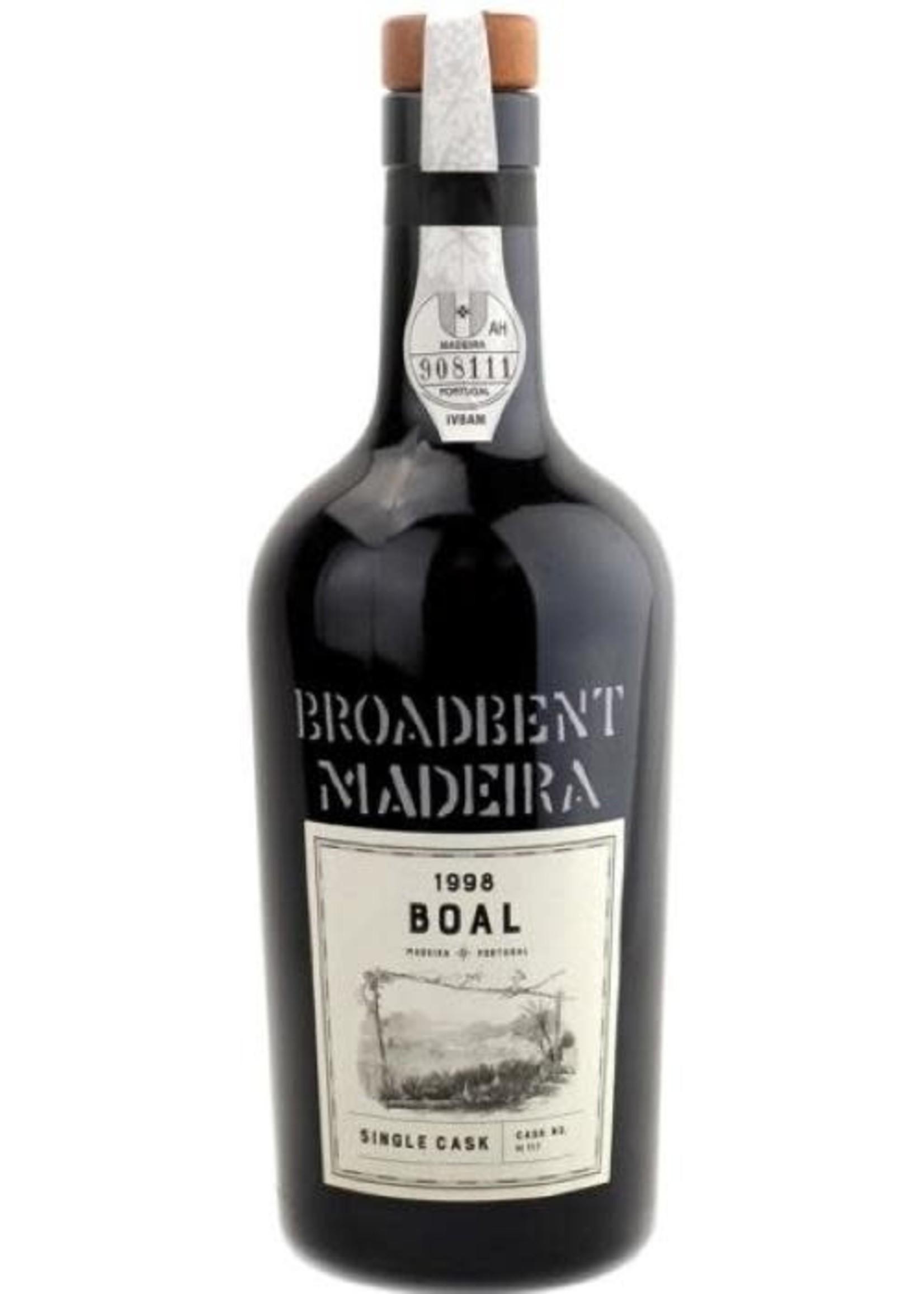 Broadbent Broadbent / Single Cask Boal Madeira Cask No. 117 1998 / 500mL