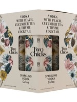 Two Chicks Two Chicks / Sparkling Cutea Vodka 4PACK x 355mL