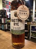 Ragtime Ragtime Rye & Roma Wines /  Single Barrel Cask Strength Rye / 750mL