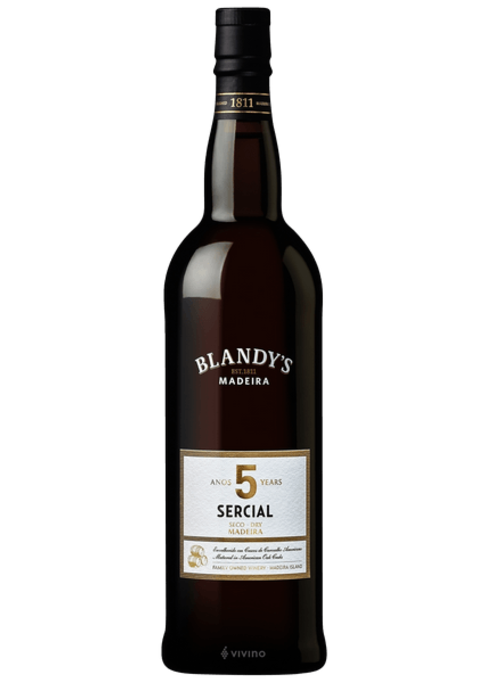 Blandy's Blandy's / Madeira Sercial 5 Year / 750mL