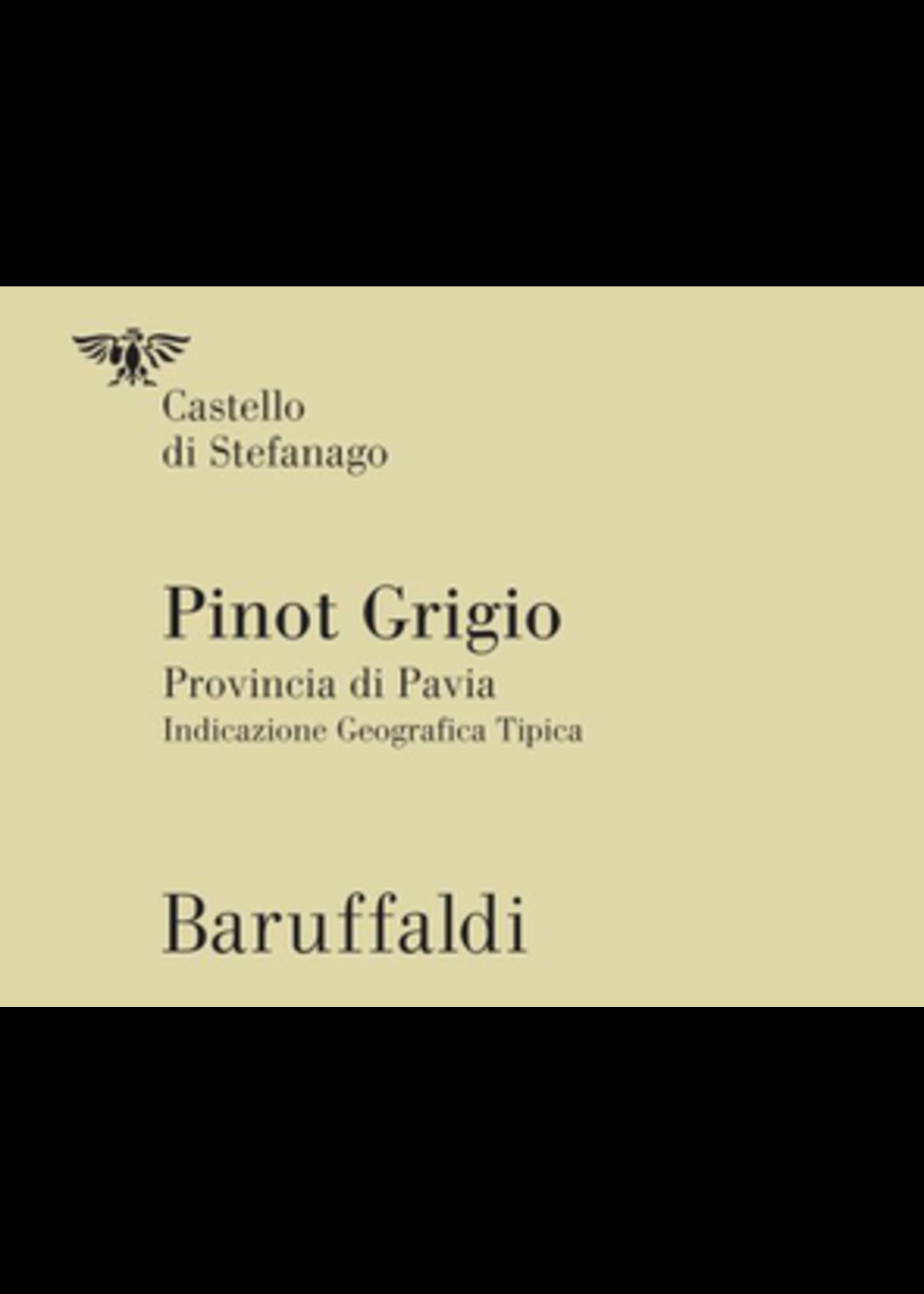 Castello di Stefanago Castello di Stefanago / Provincia di Pavia / Pinot Grigio Campo Piano / 750mL