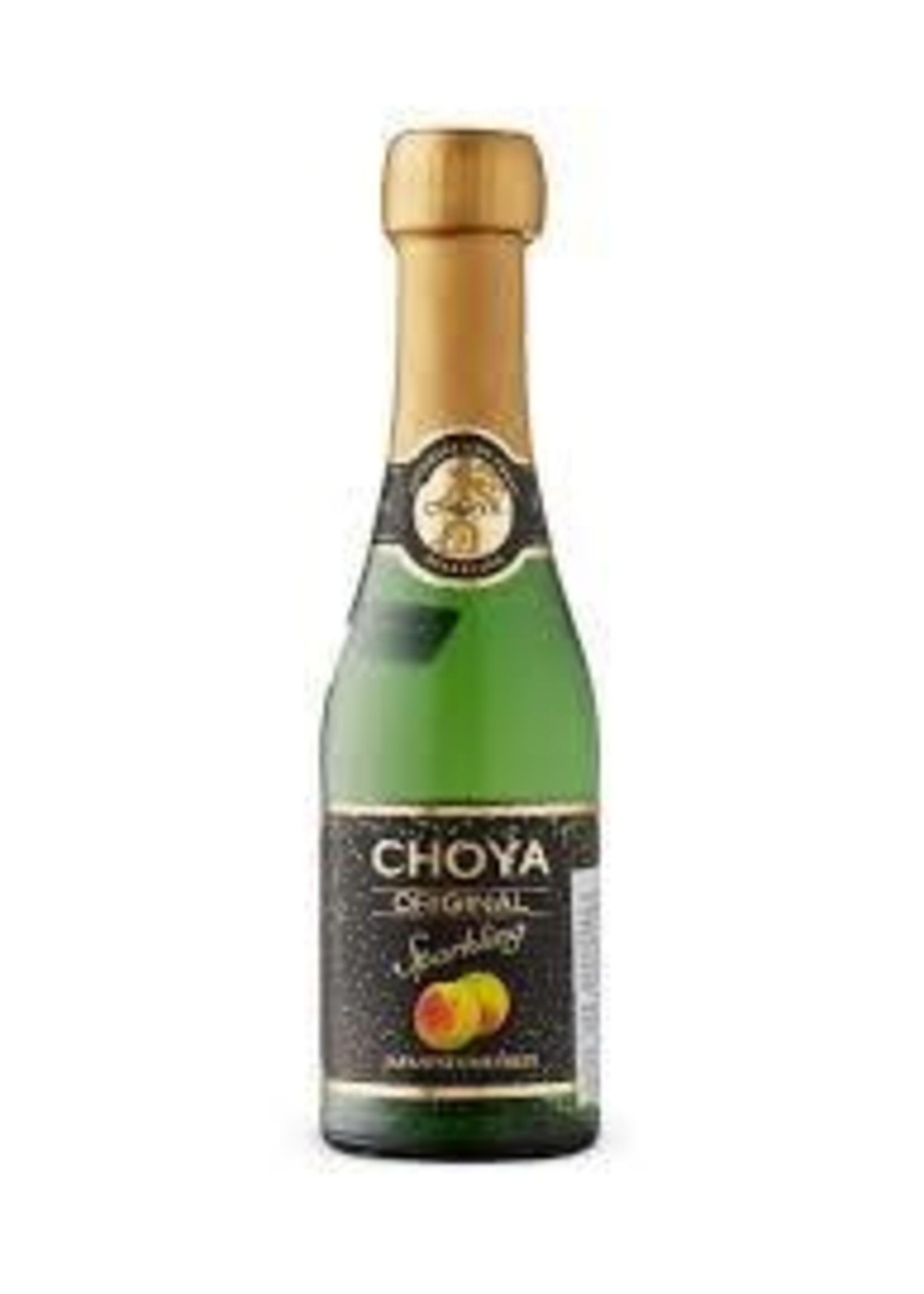 Choya Choya / Original / Sparkling Plum Wine / 187mL
