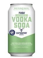 Cutwater Spirits Cutwater Spirits / Fugu Cucumber Vodka Soda / 355mL