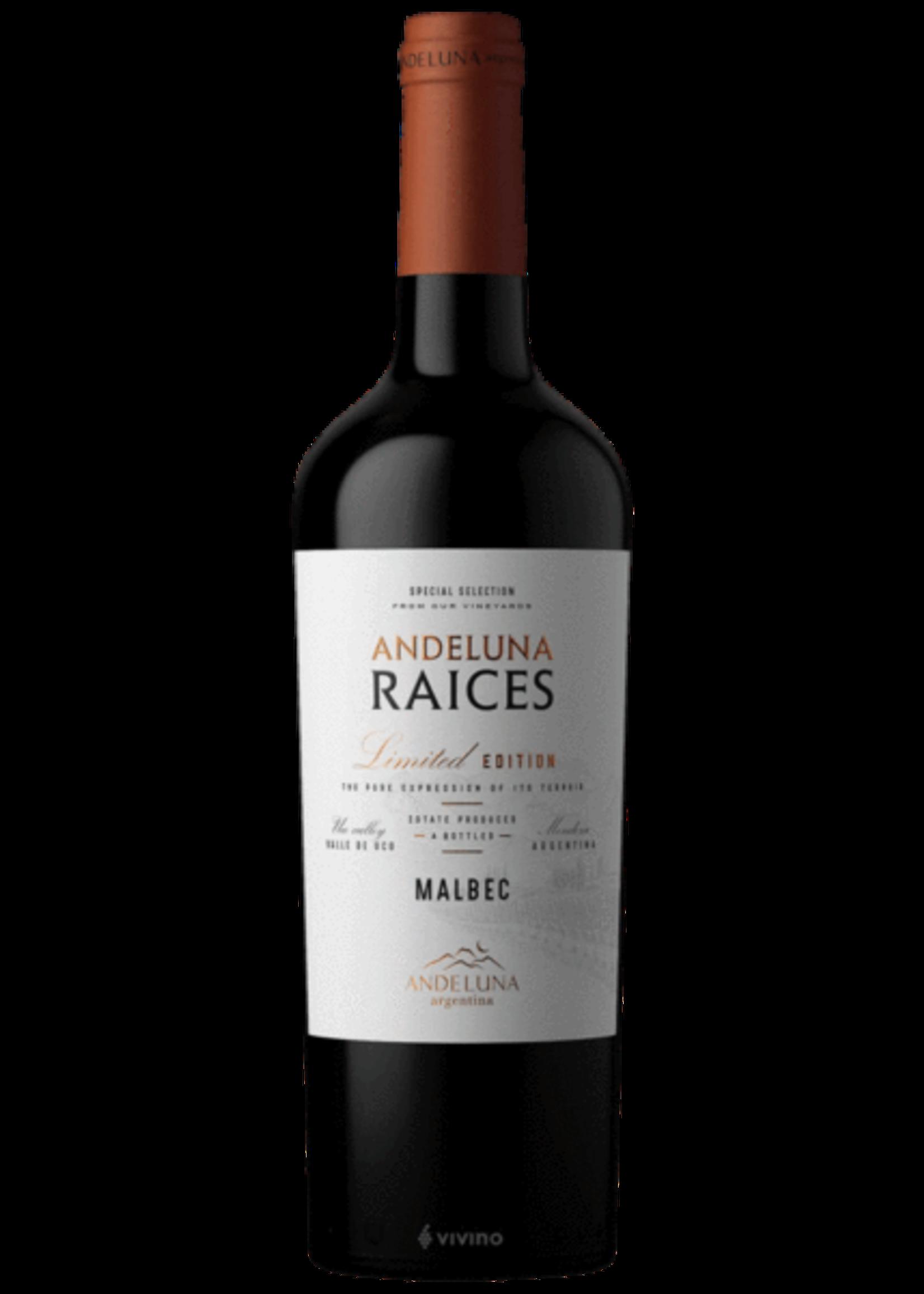 Andeluna Cellars Andeluna Cellars / Limited Edition Malbec Raices / 750mL