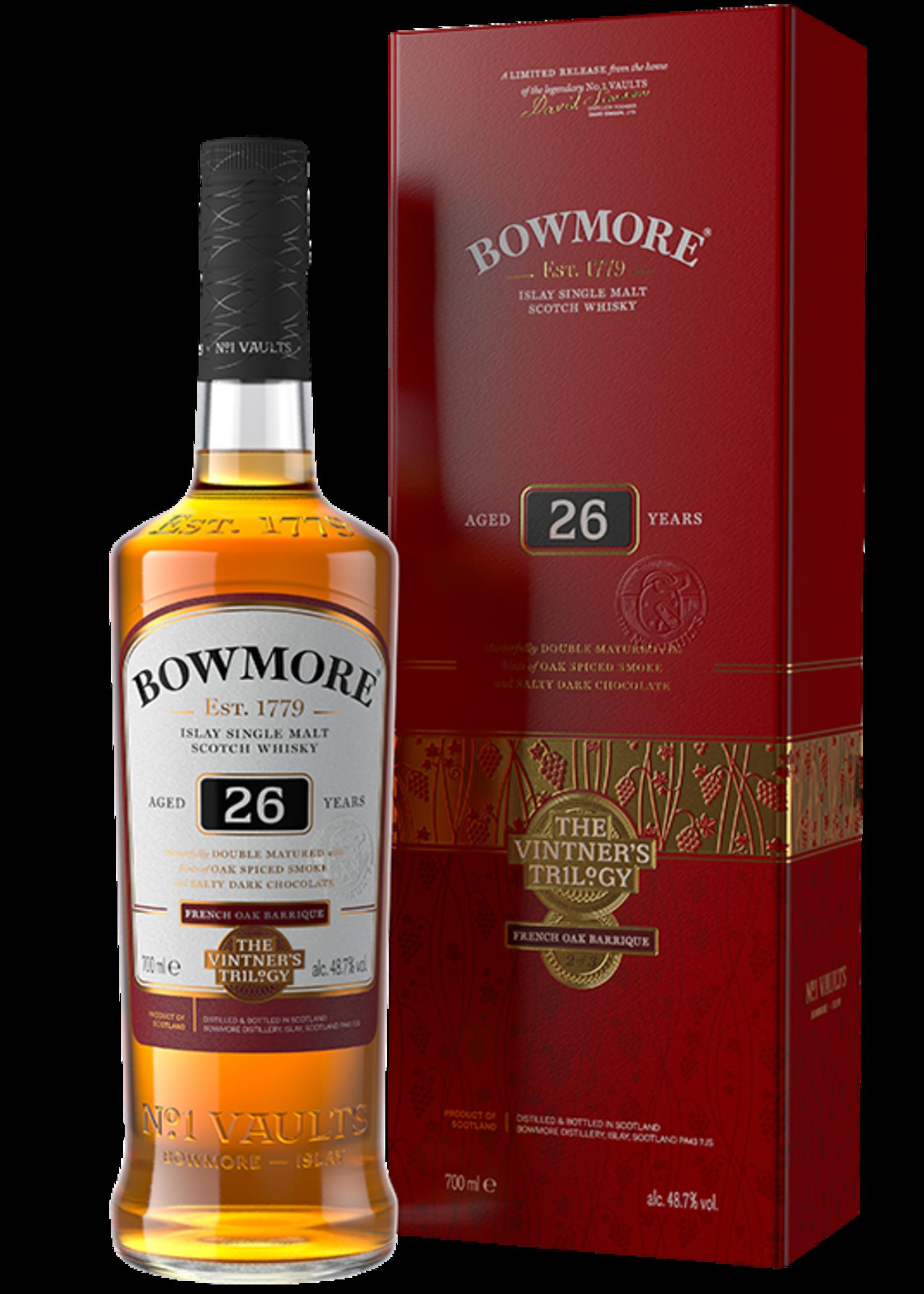 Bowmore Bowmore / 26 Year French Oak Vintner's Trilogy 48.7% abv