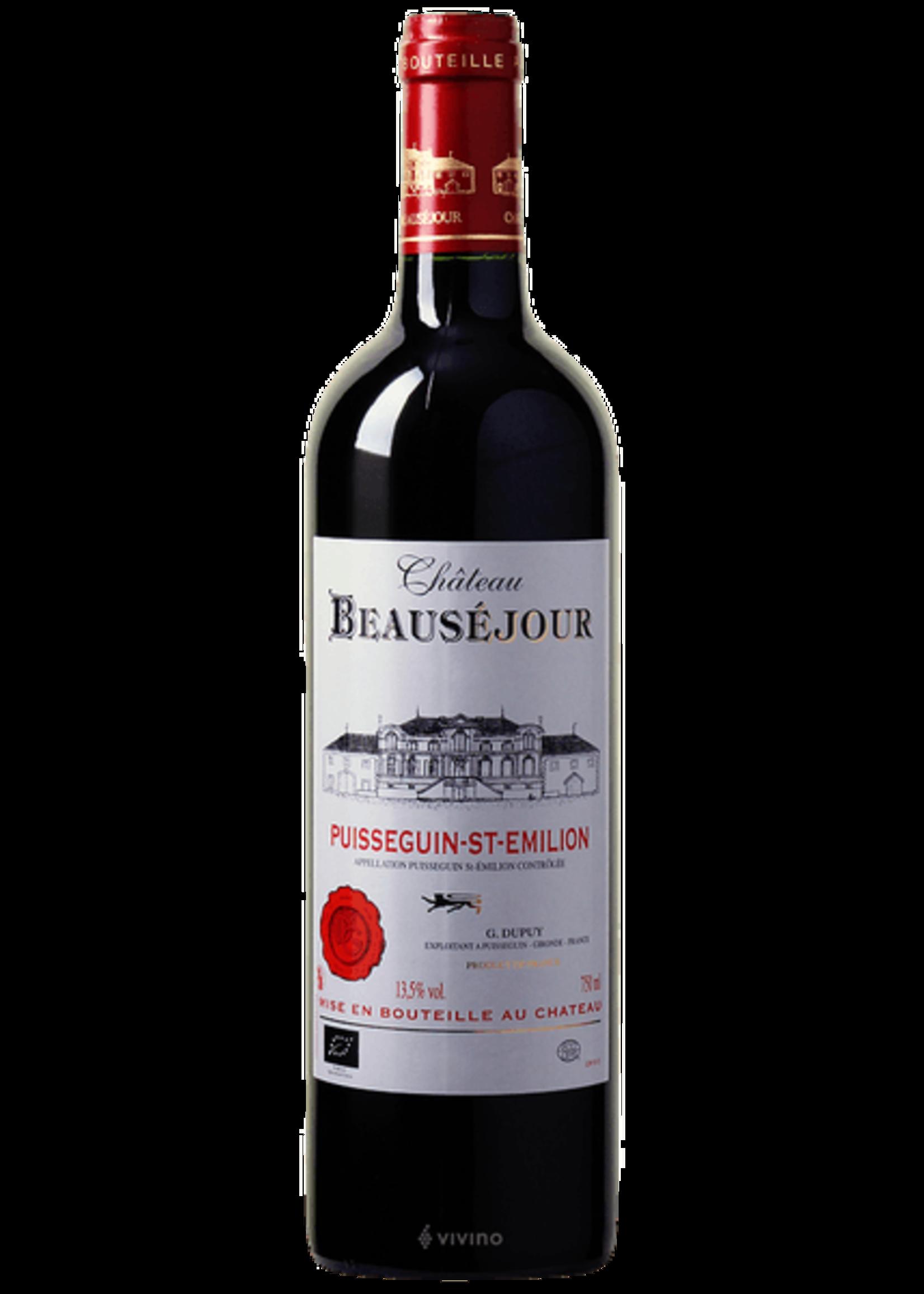 Chateau Beausejour Château Beauséjour / Puisseguin Saint-Émilion Cuvée Sulfite Free 2018 / 750mL