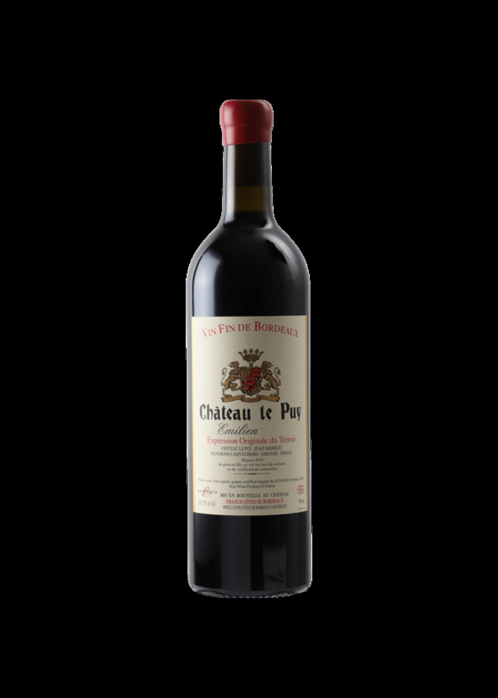 Chateau Le Puy Chateau Le Puy /  Emilien 2016 / 750mL