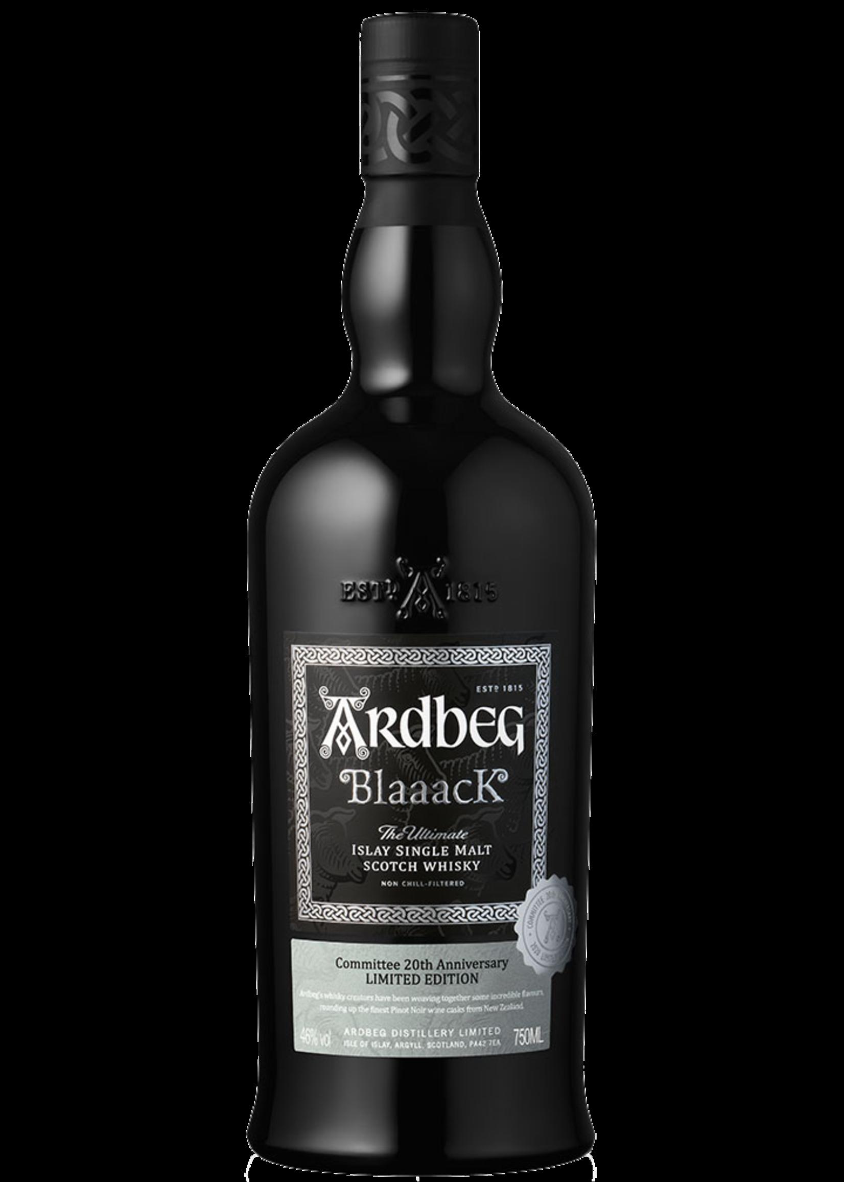 ARDBEG Ardbeg / Blaaack 92Pf / 750mL / 1 per person