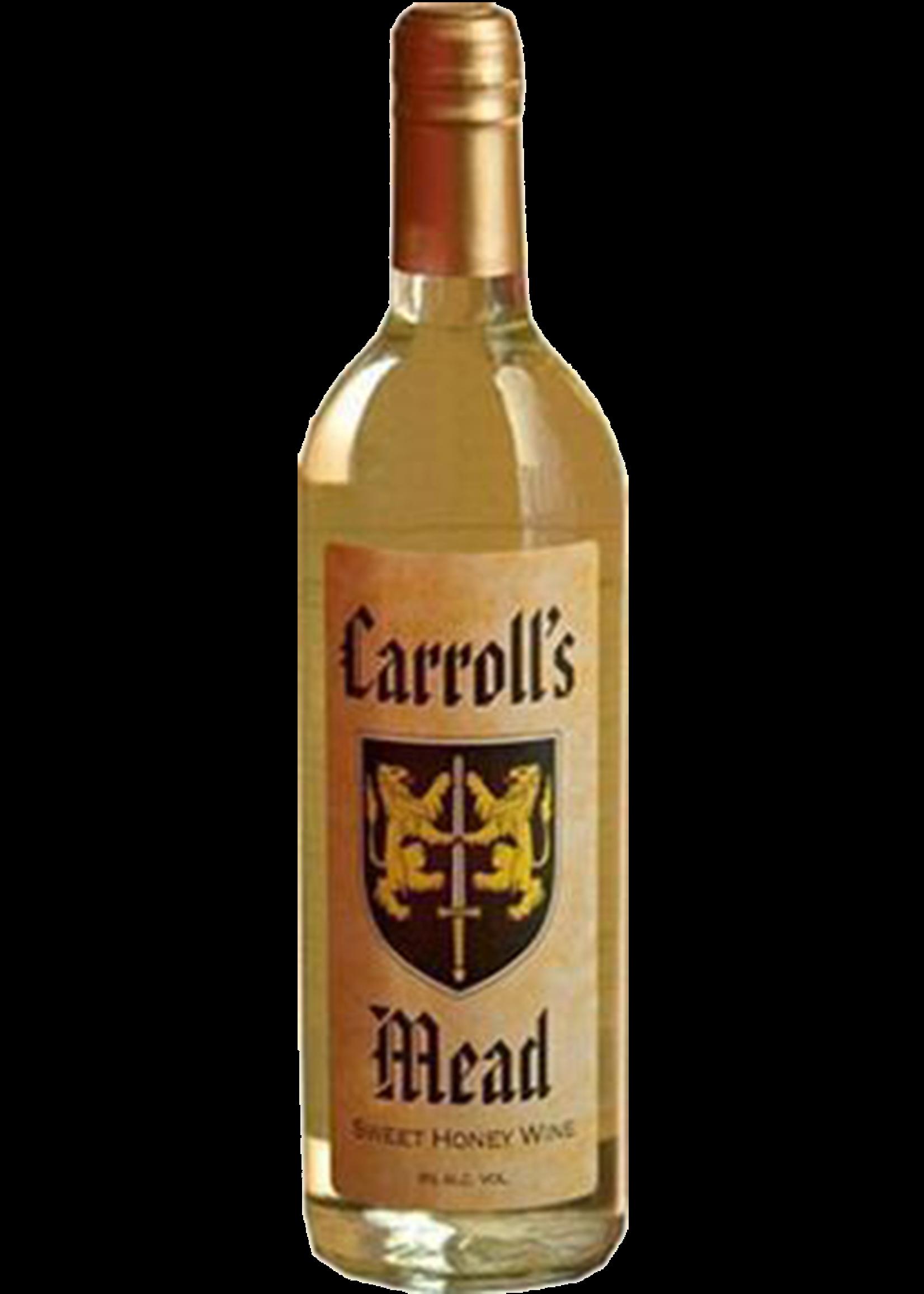 Brotherhood Carroll's Mead / Sweet Honey Wine / 750mL