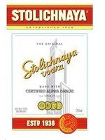 Stolichnaya Stolichnaya / 80 Vodka