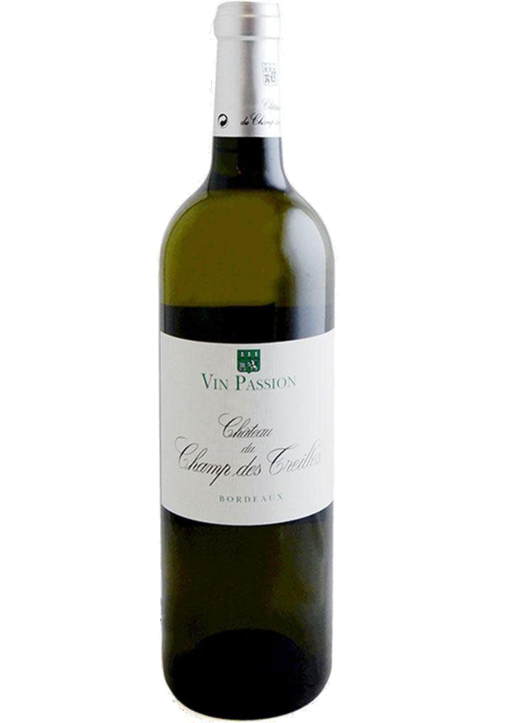 Chateau du Champ des Treilles Chateau du Champ des Treilles / Sainte-Foy Bordeaux Blanc Vin Passion (2018) / 750mL