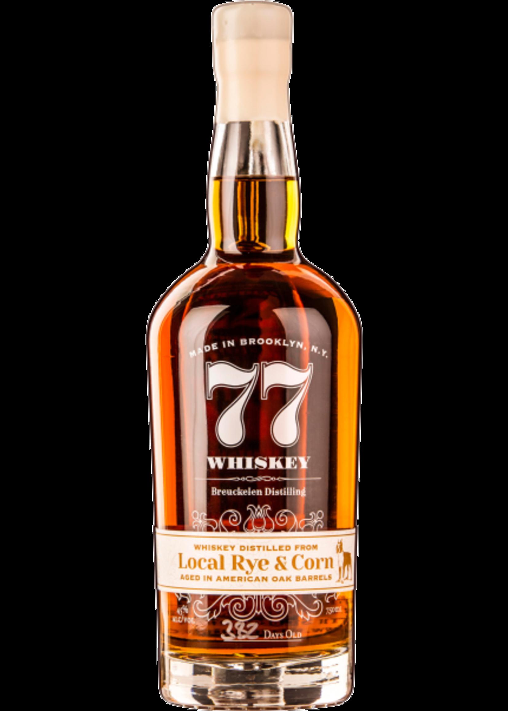 Breuckelen Distilling Breuckelen Distilling / 77 Whiskey / Local Rye & Corn / 750mL