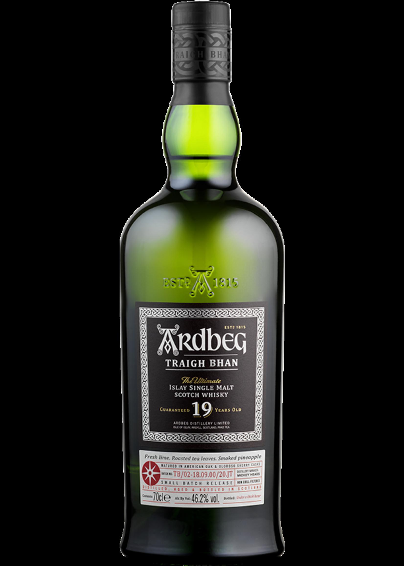ARDBEG Ardbeg / Scotch Single Malt / 19 Year Traigh Bhan / 750mL