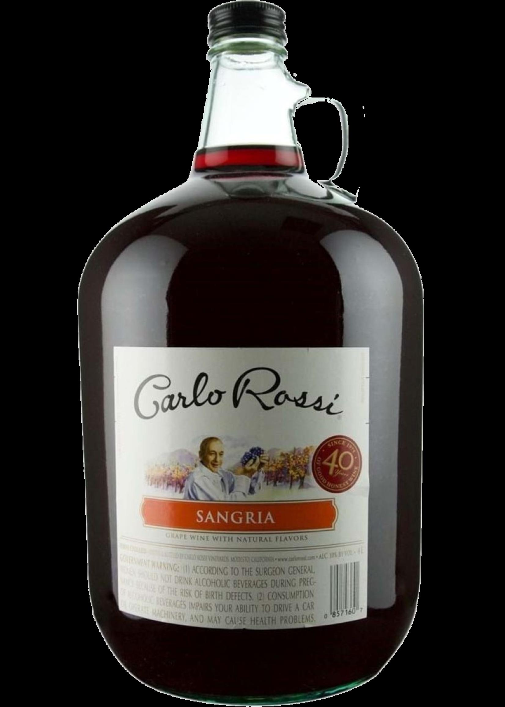 Carlo Rossi Carlo Rossi / Sangria / 4.0L