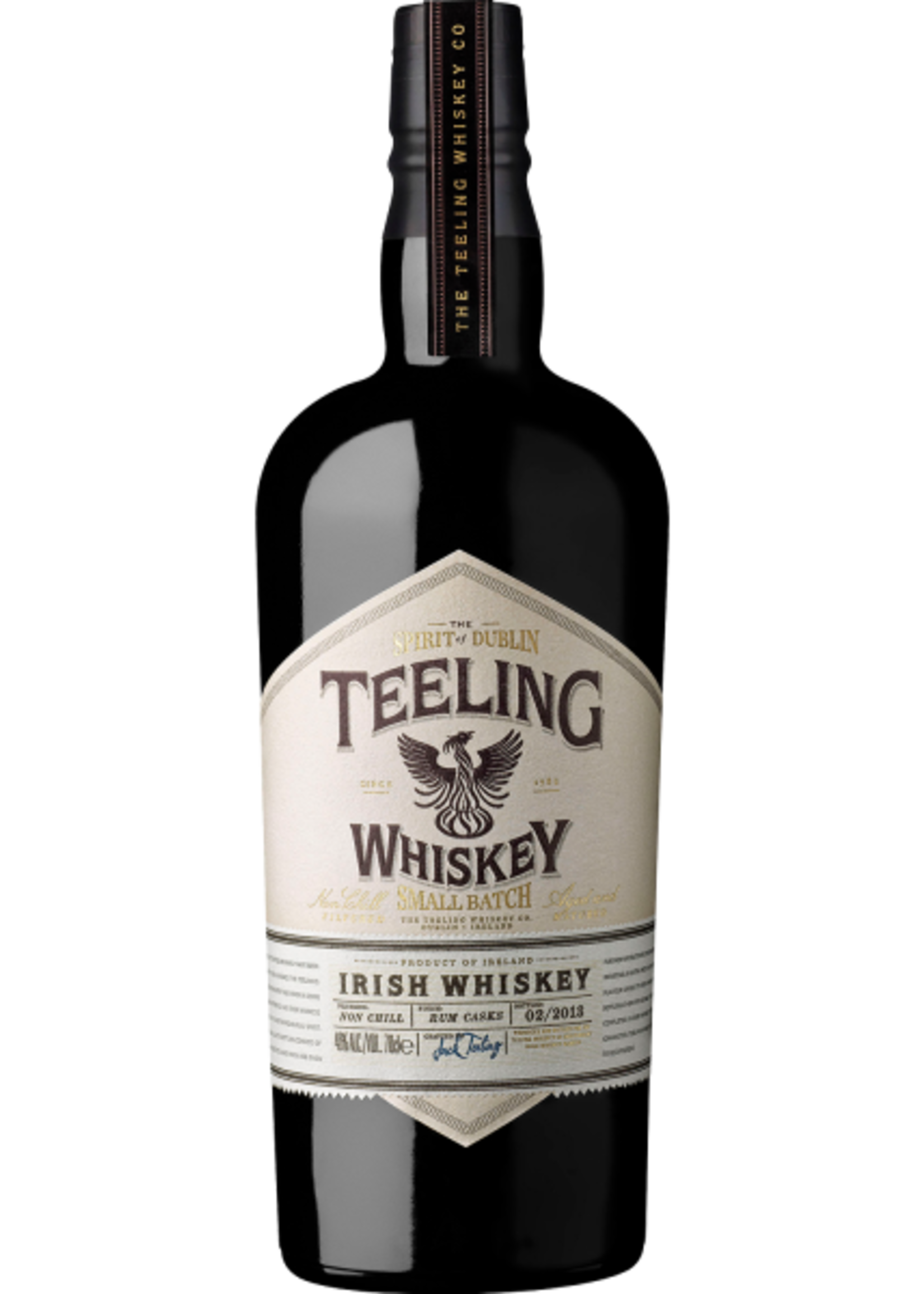 Teeling Teeling / Irish Whiskey Small Batch Rum Cask / 750mL