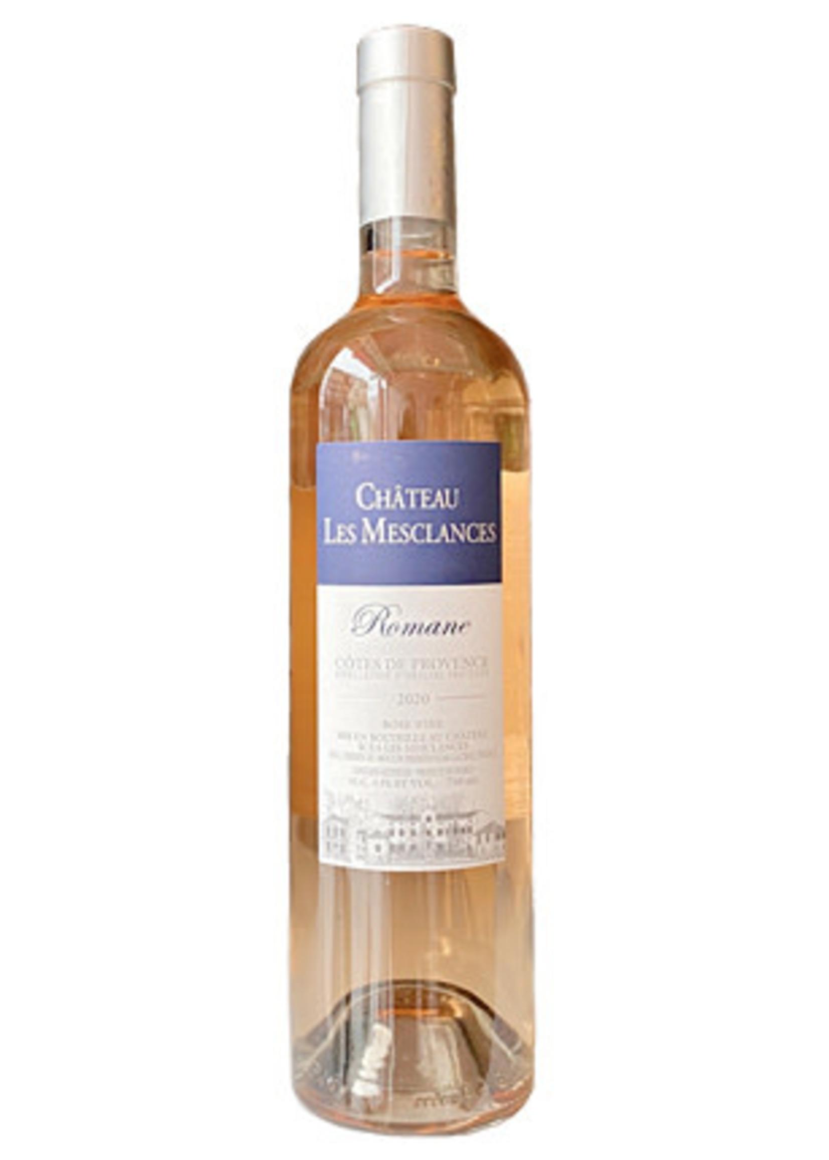 Château Les Mesclances Château Les Mesclances / Côtes De Provence Romane Rosé Wine 2020 / 750mL