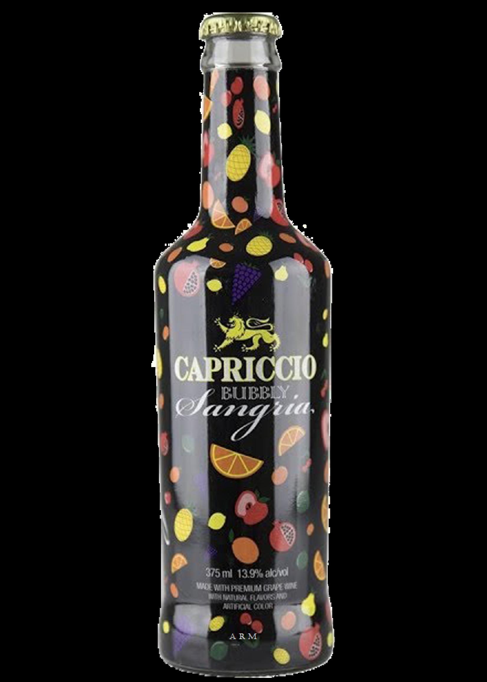 Capriccio Sangria Capriccio / Bubbly Sangria 375mL / 4 Pack
