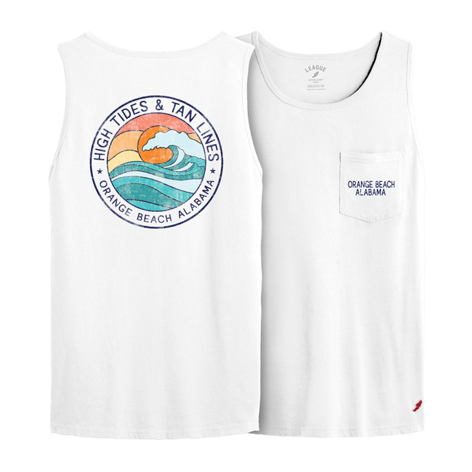 L2 Brands High Tides Sunset Crest Pocket Tank