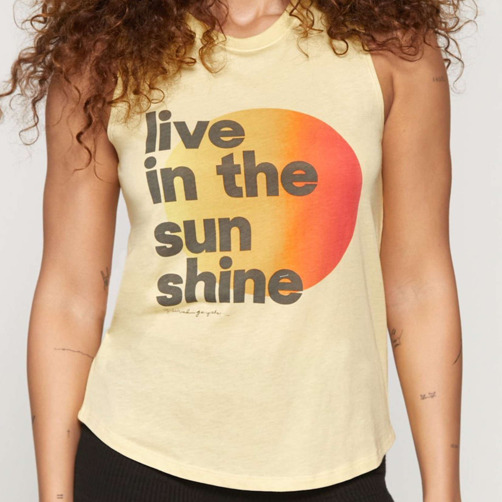 Spiritual Gangster Sunshine Muscle Tank