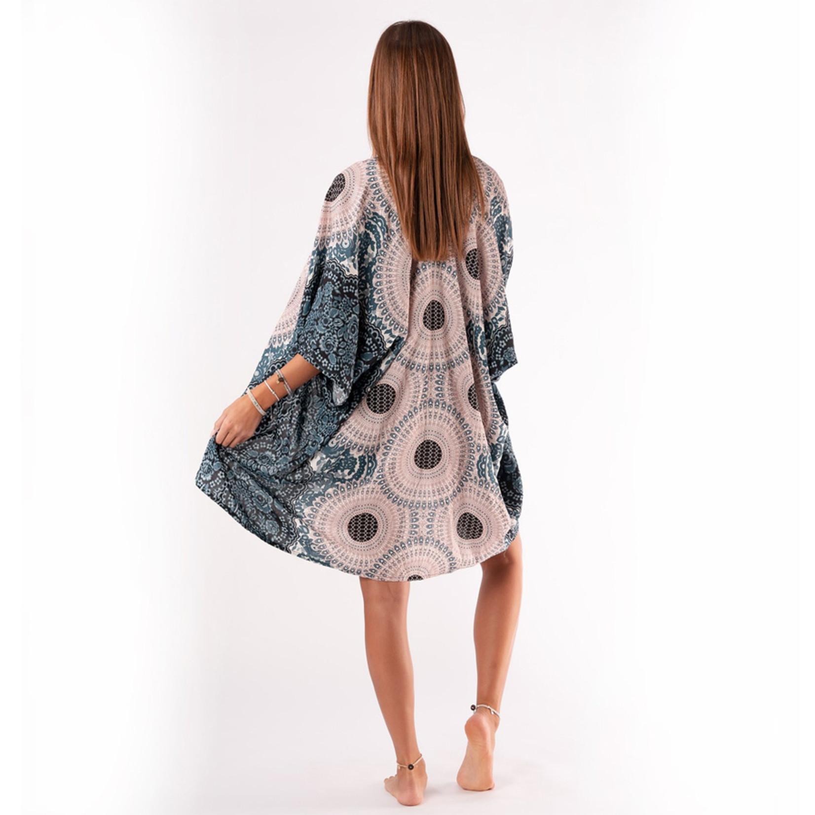Lotus and Luna Kimono Cover Up