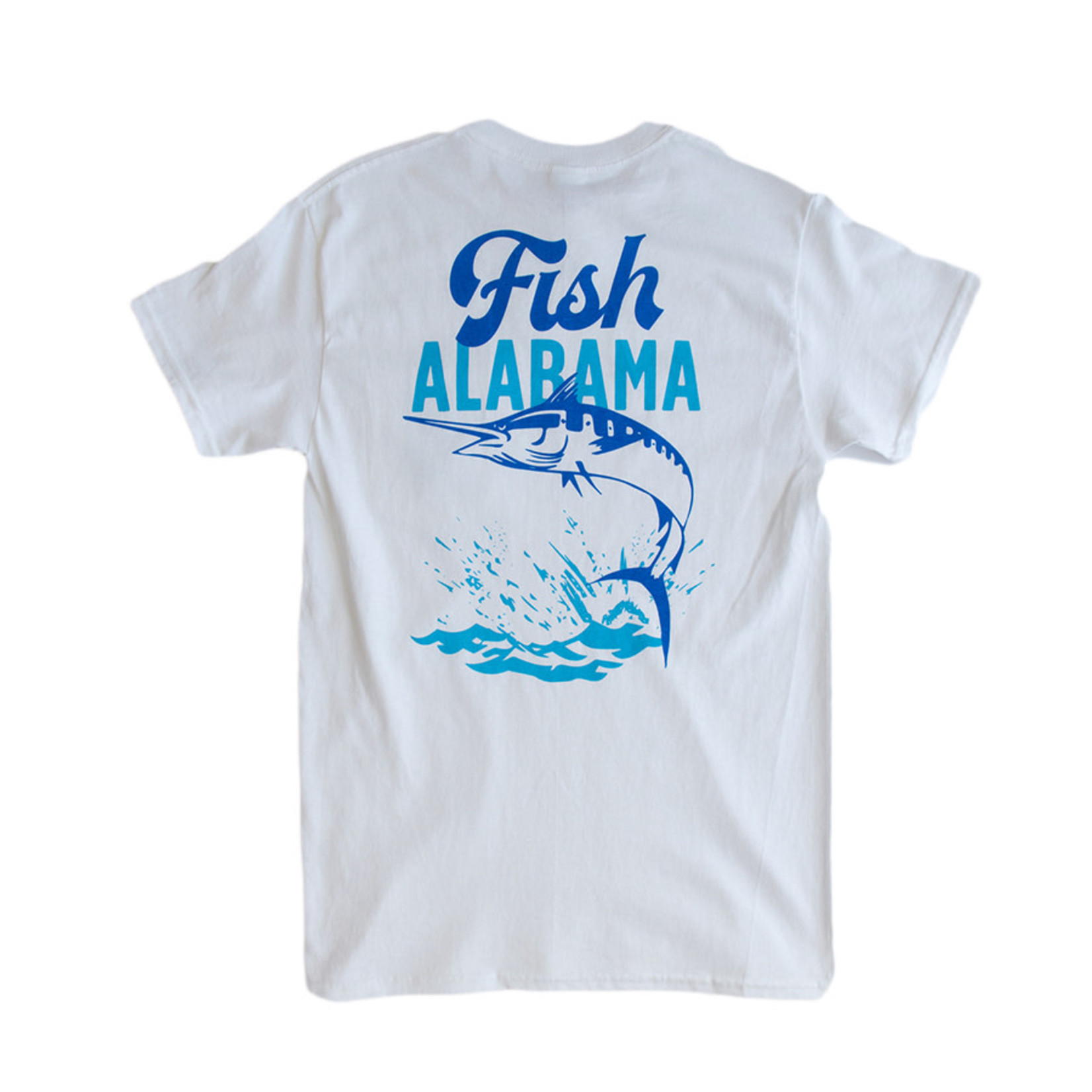 Yellowhammer Creative Fish Alabama Pocket Tee