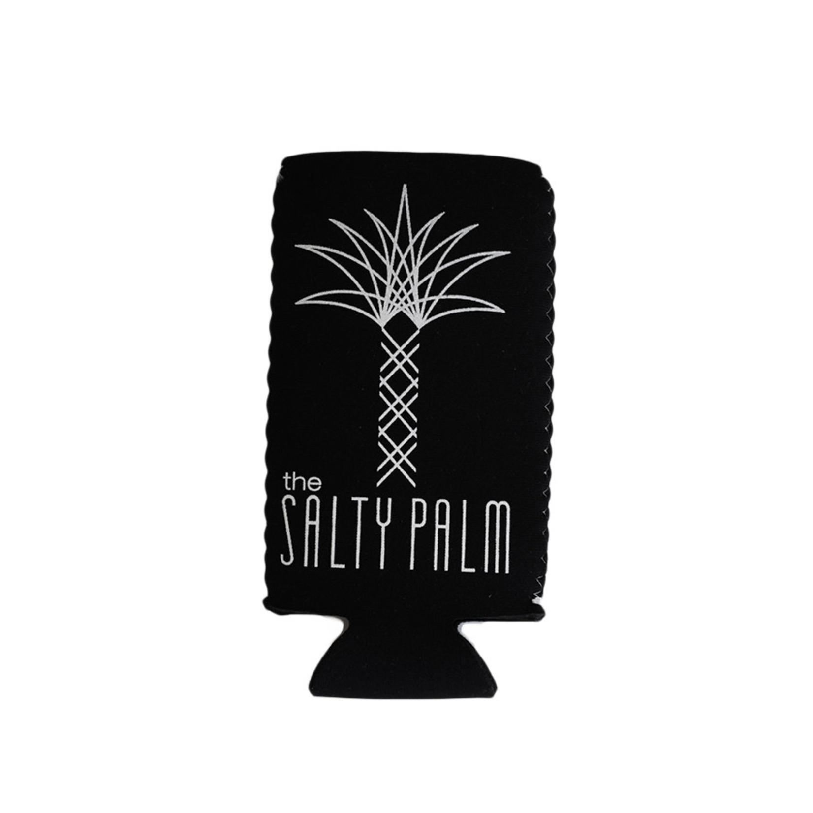 The Salty Palm TSP Slim Can Koozie
