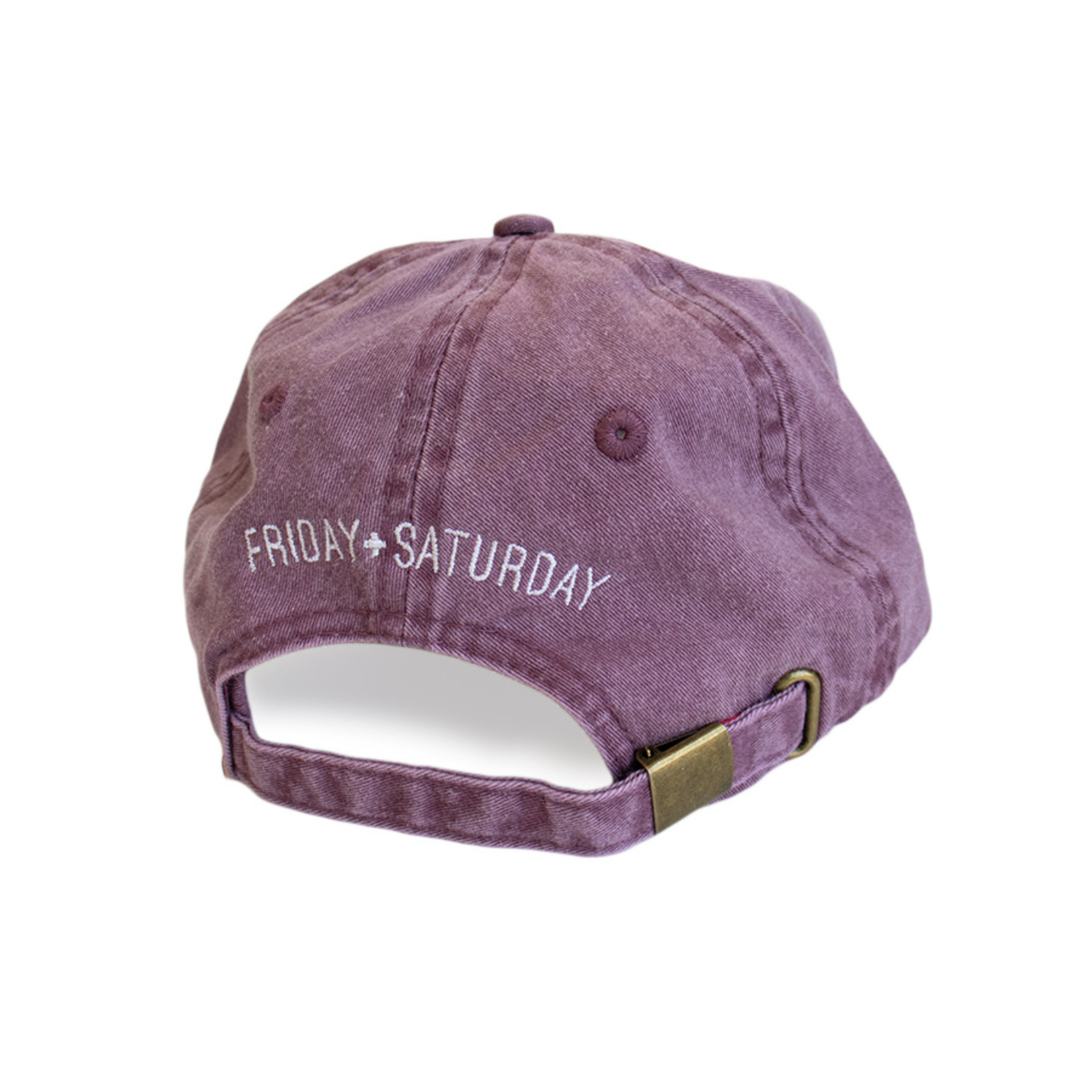 FRIDAY + SATURDAY Weekend Hat
