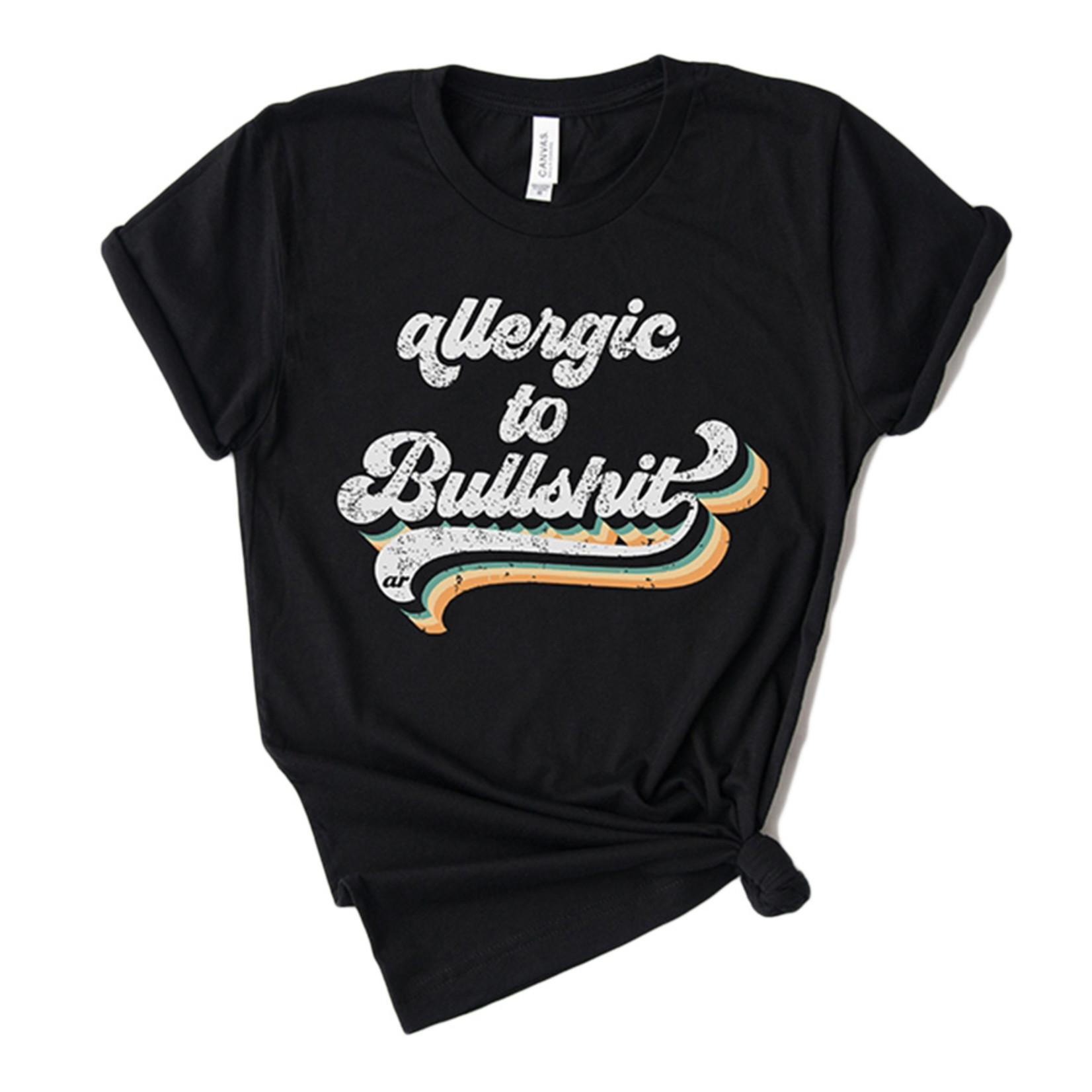 Alley & Rae Apparel Allergic to Bullshit Tee