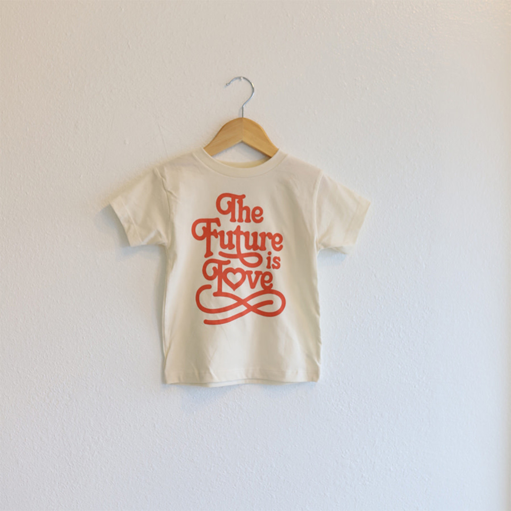 Polished Prints The Future is Love Toddler Tee