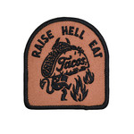 Pyknic Iron On Embroidered Patch