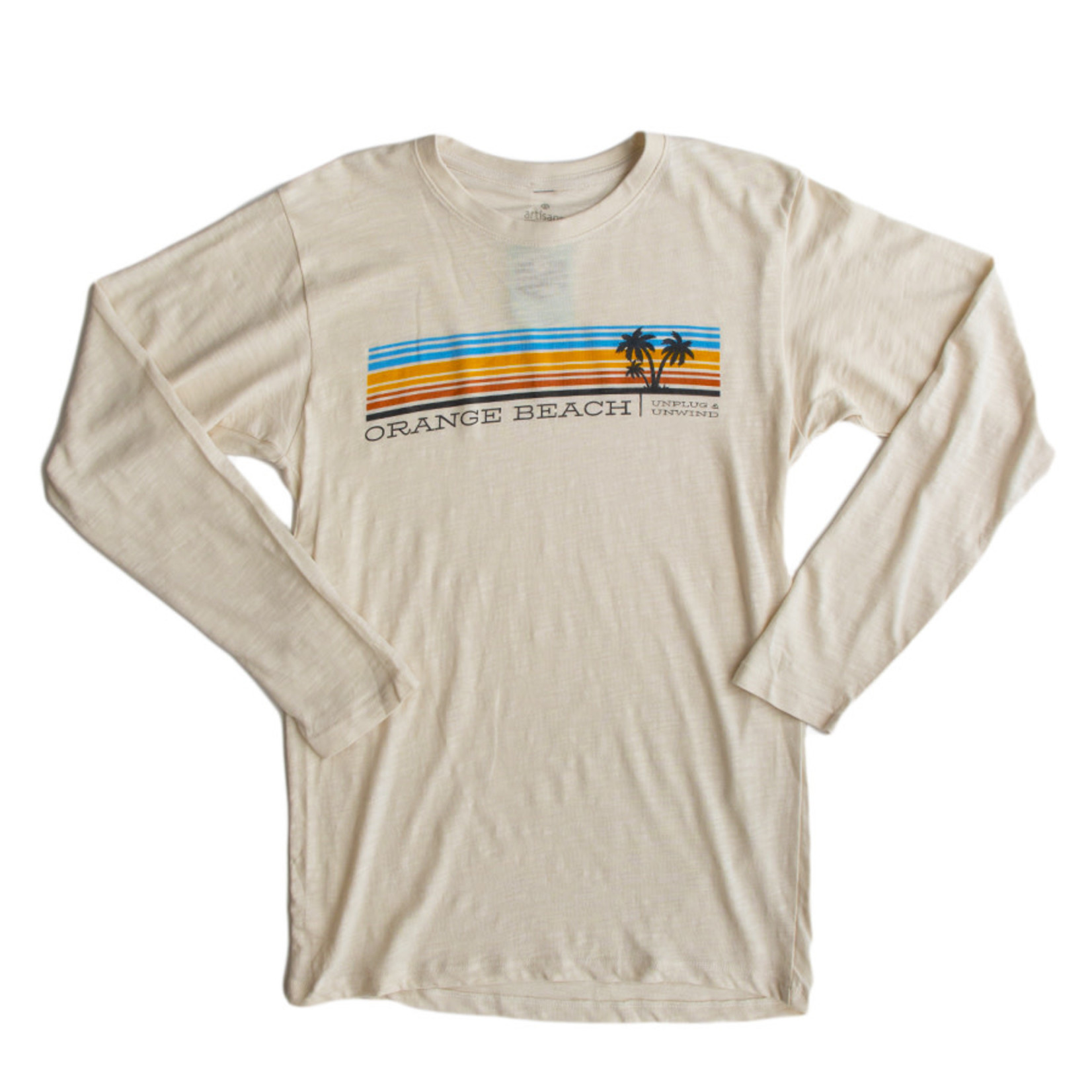 Artisans Stripes Long Sleeve Slub