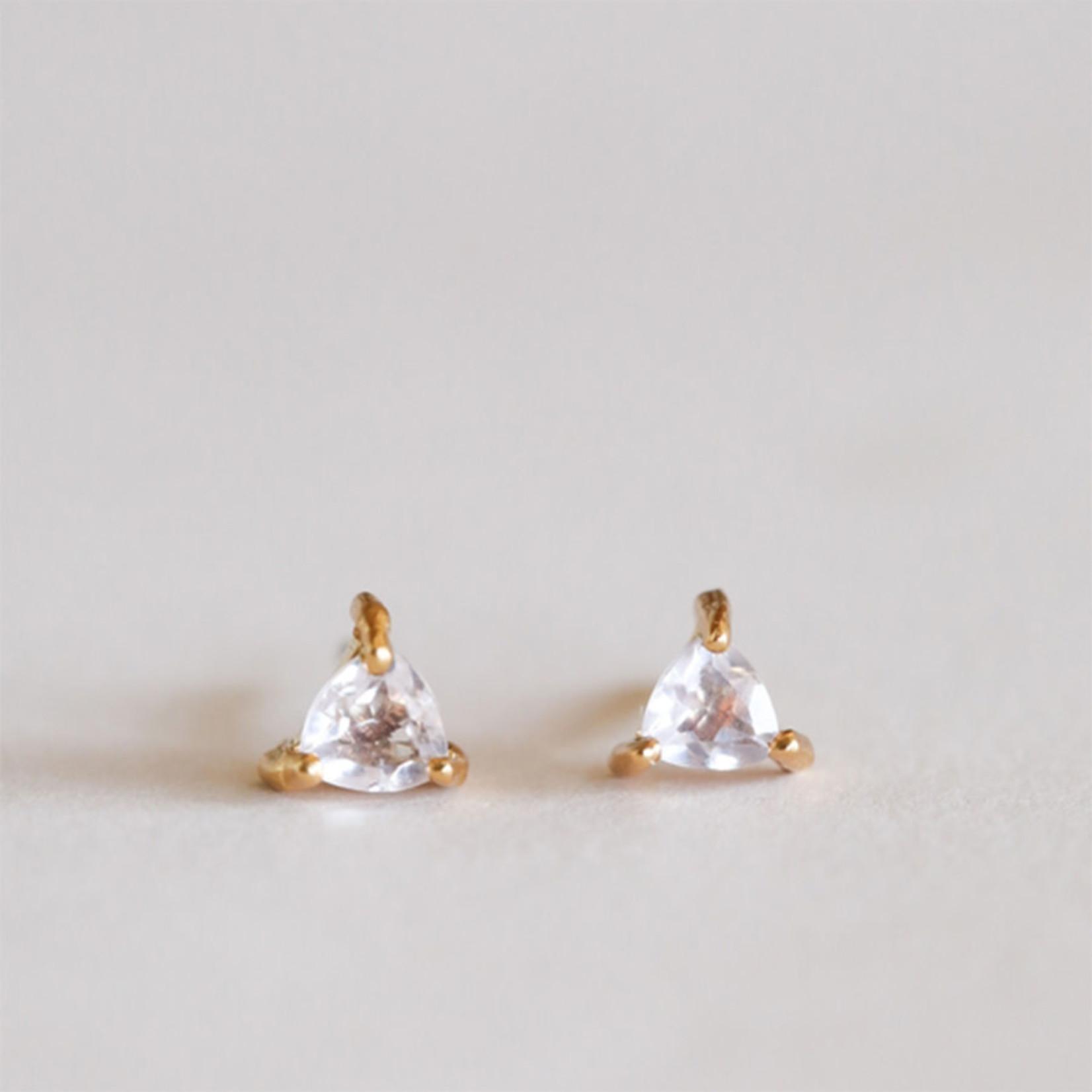 JaxKelly Mini Energy Gem Earrings