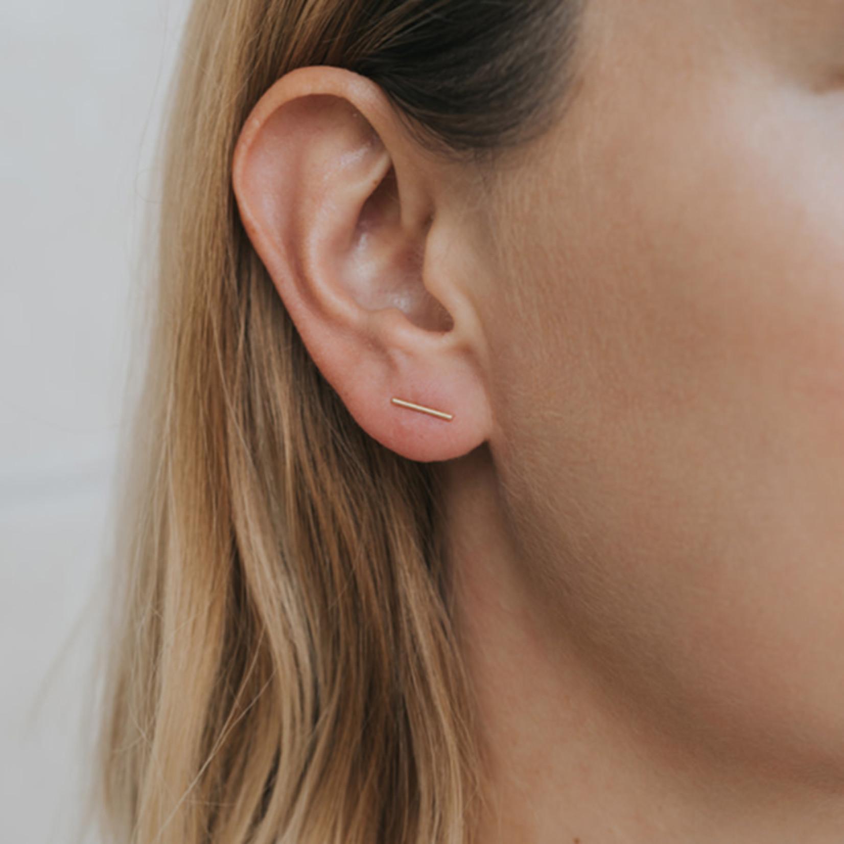 JaxKelly Minimalist Bar Earrings