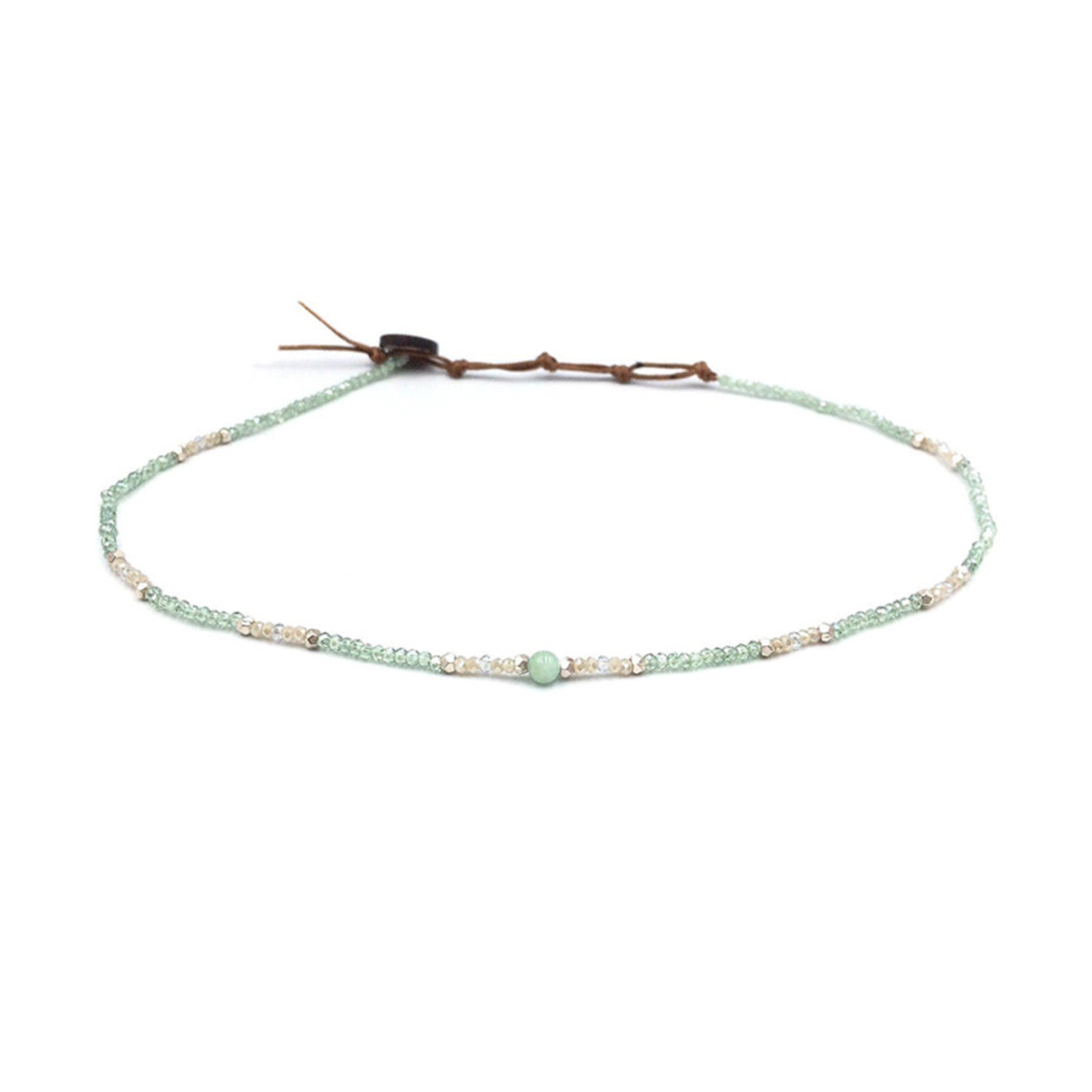 Lotus and Luna Goddess Necklace