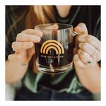 Polished Prints Glass Rainbow Mug