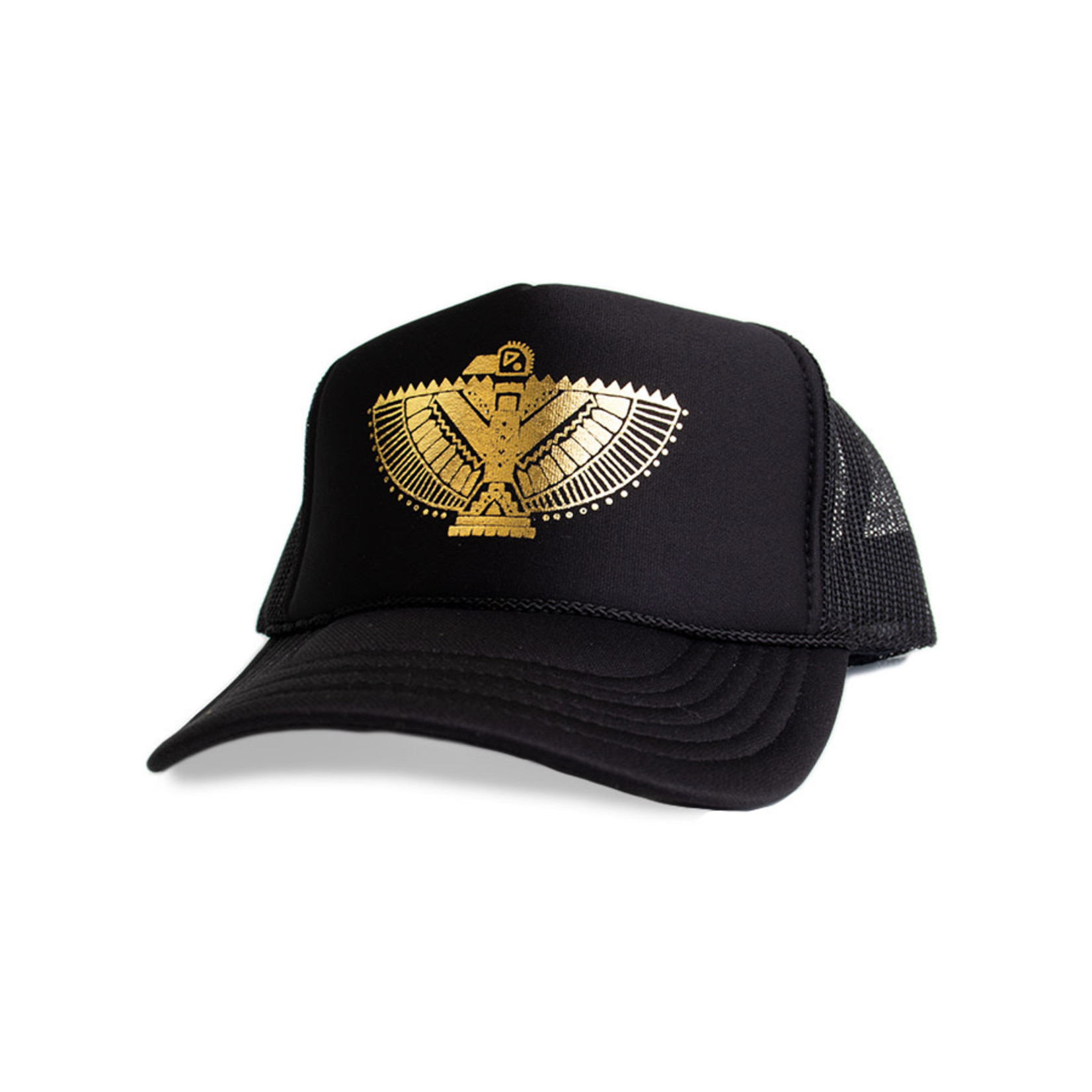 Mothersun and the Captain The Hawk Omen Trucker Hat