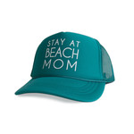 Mothersun and the Captain The Stay at Beach Mom Trucker Hat