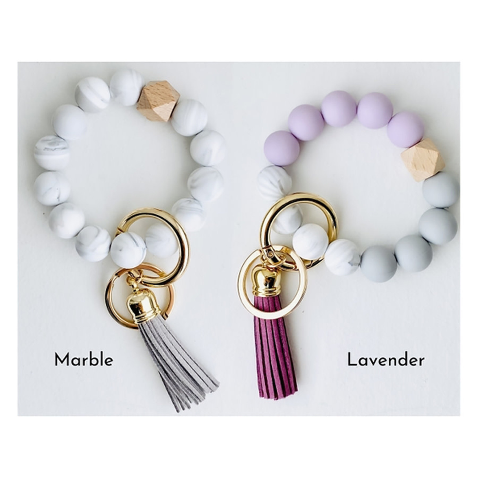Tiny Gift Society Silicone Wristlet Keychain