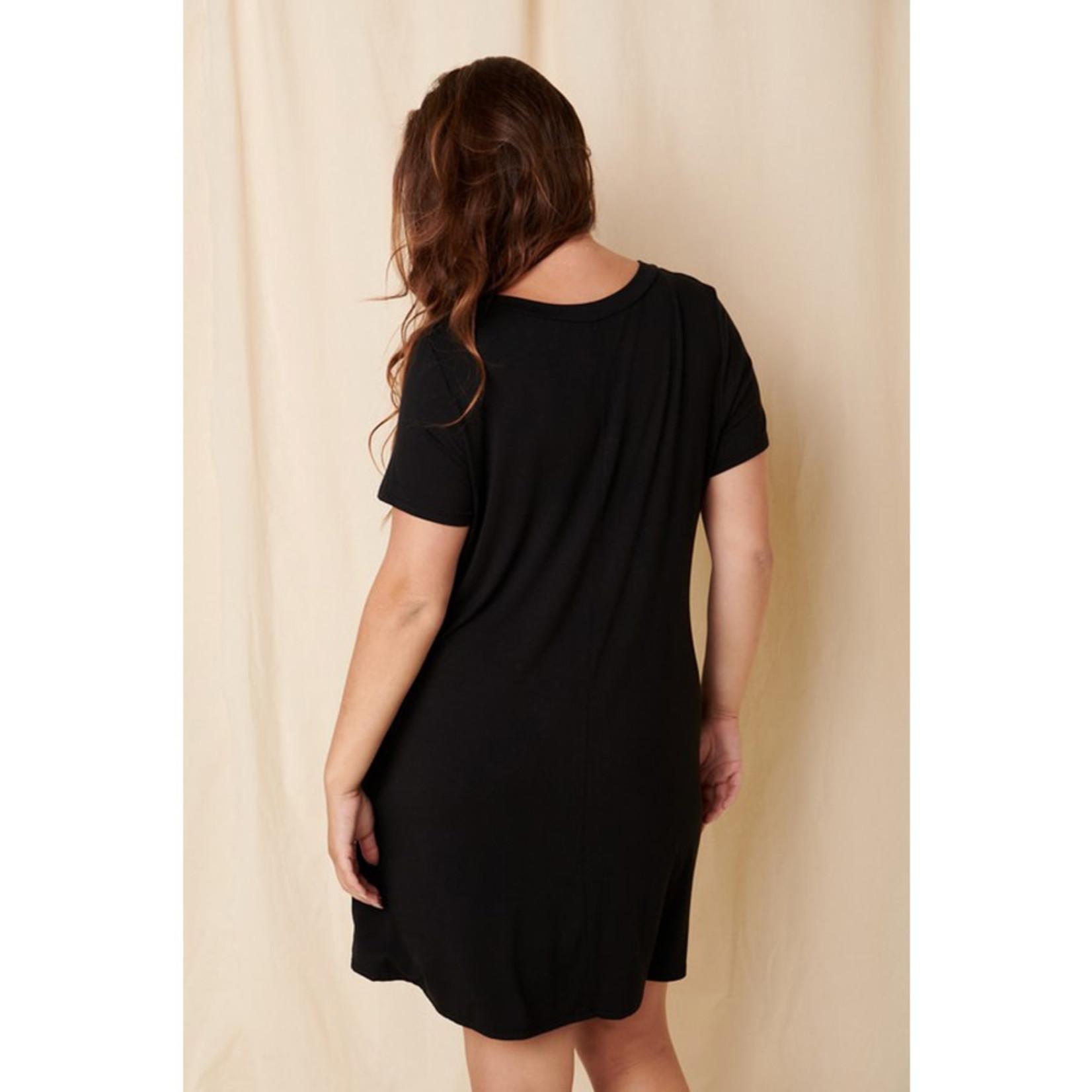 Mittoshop Bamboo V-Neck Dress