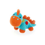 Pebble Turquoise Steggy Dino Rattle