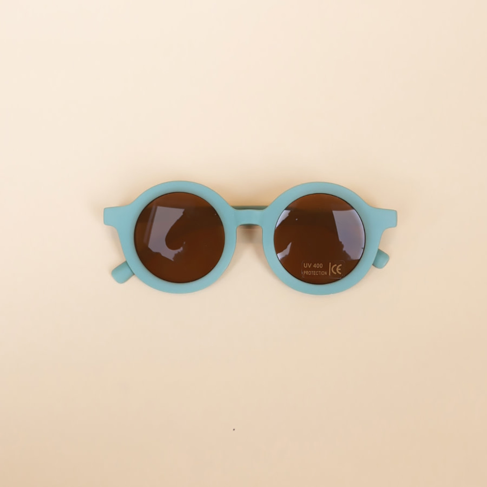 Polished Prints Toddler Round Sunglasses