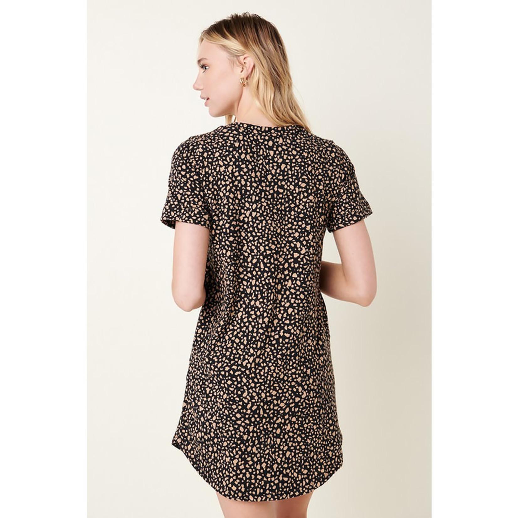 Mittoshop Animal Print Tee Dress