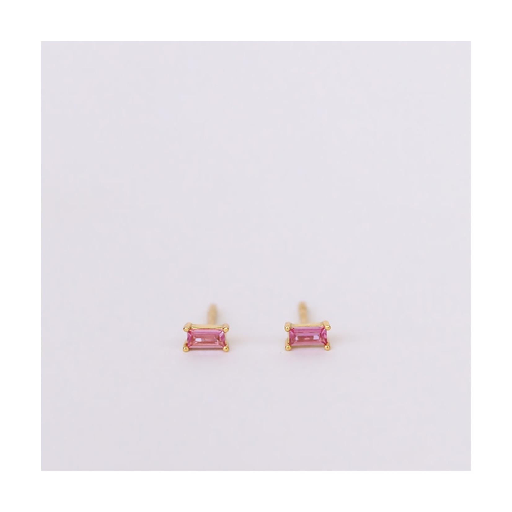 JaxKelly Baguette Earrings