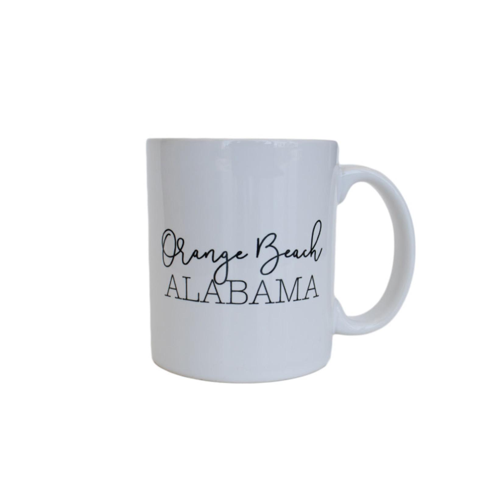Quotable Life Orange Beach Mug