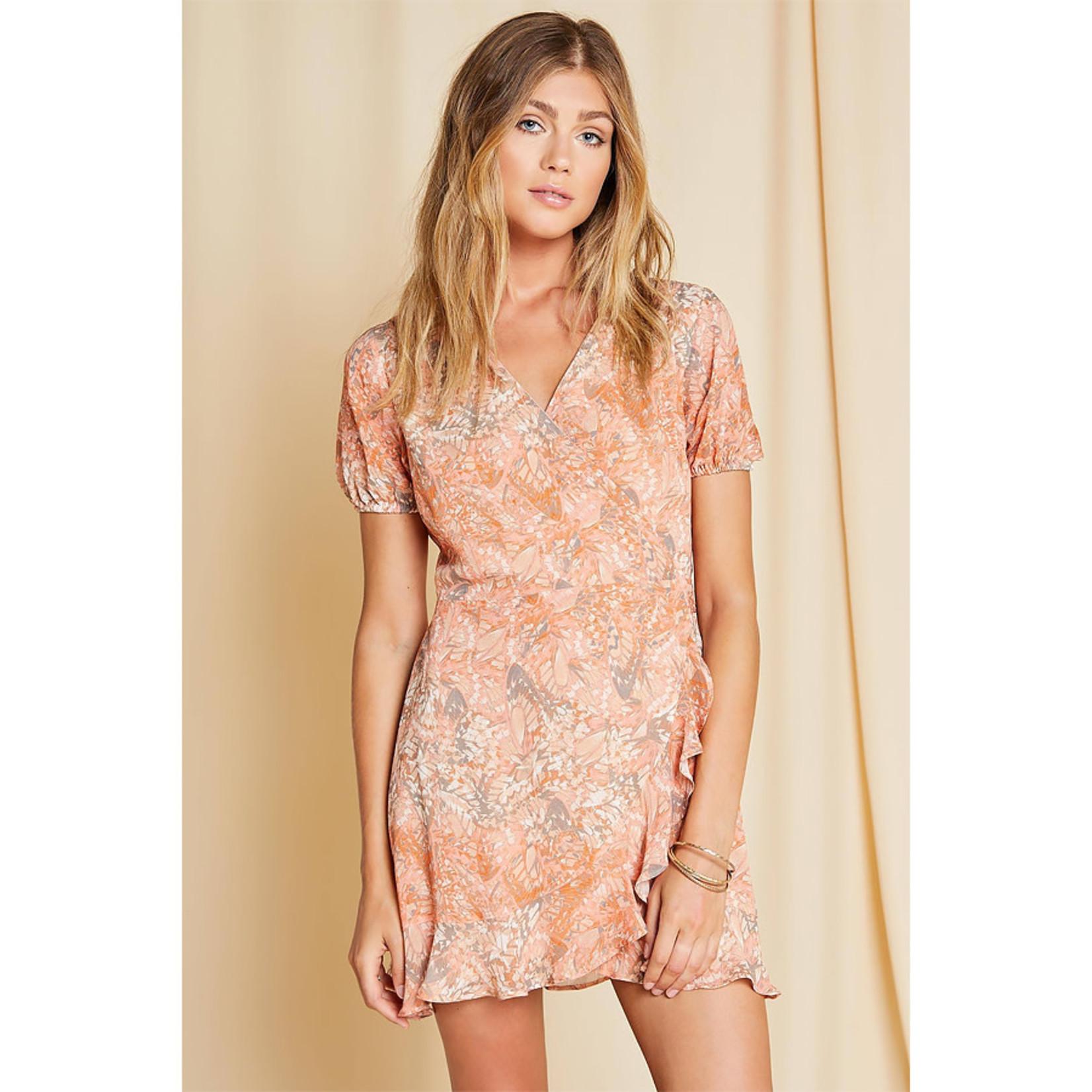 Sage The Label Monarch Wrap Dress